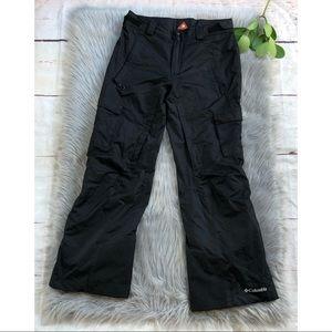 Columbia Omni-Heat Black Ski/snow Pants M